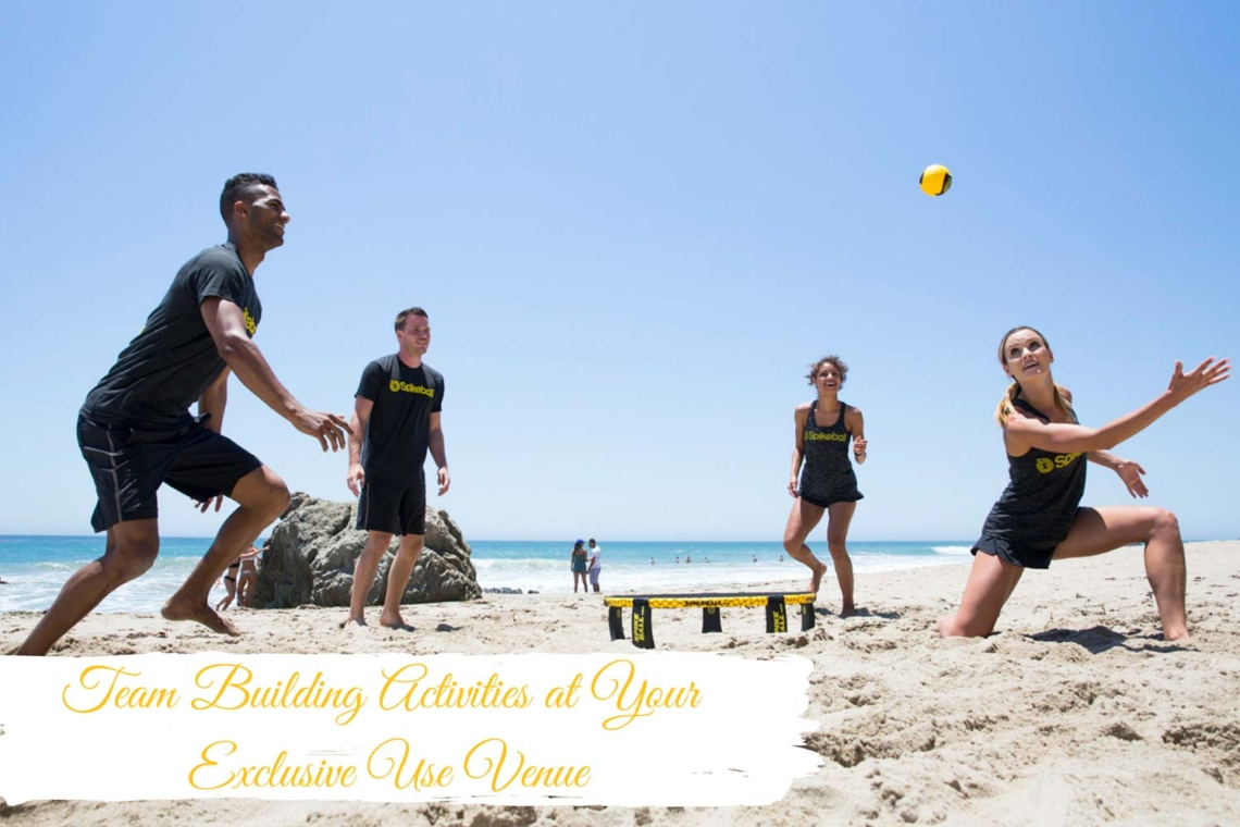 Team-Building-Activities at Your Exclusive Event Venue